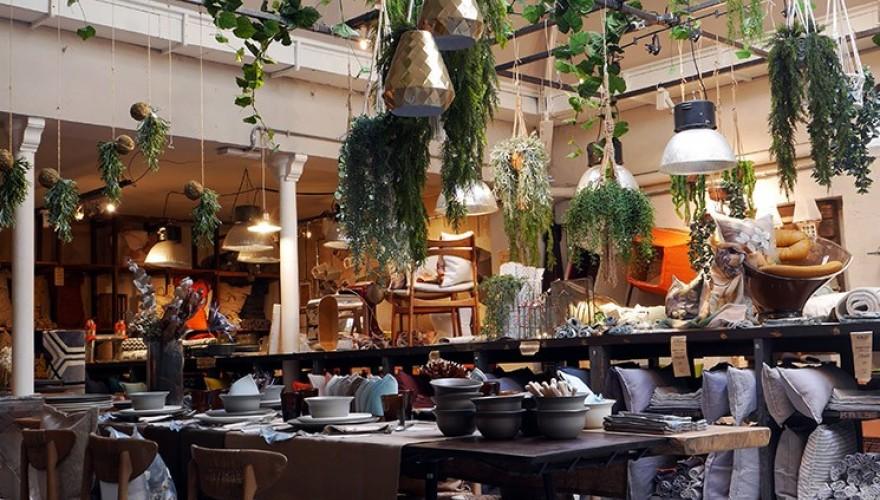 Visite de la boutique Borgo delle Tovaglie à Paris