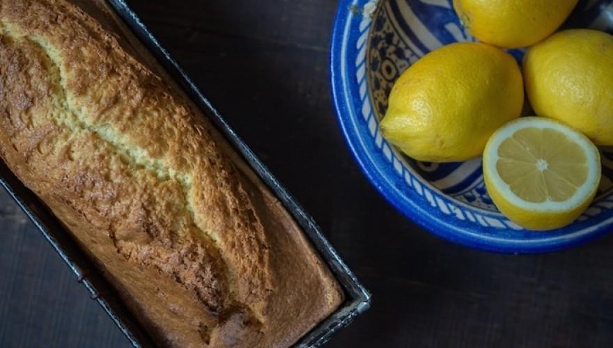 Mon cake au citron délicieusement moelleux (façon Gesundheitskuchen)