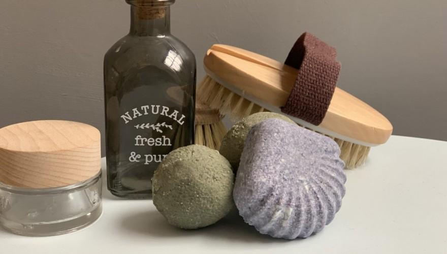 DIY bombe de bain bio fait maison façon Lush