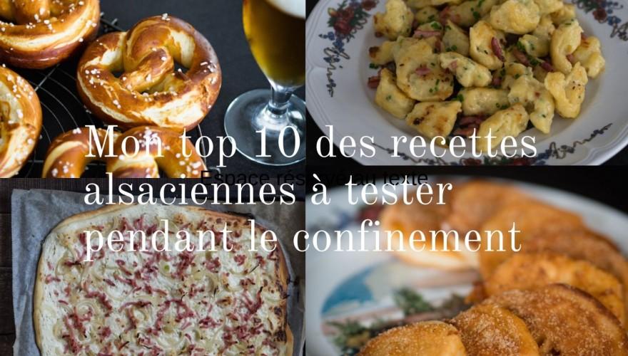 Confinement : top 10 des recettes alsaciennes à faire avec les fonds de placard