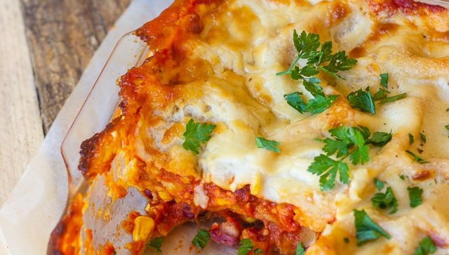 Lasagnes vegan façon chili sin carne