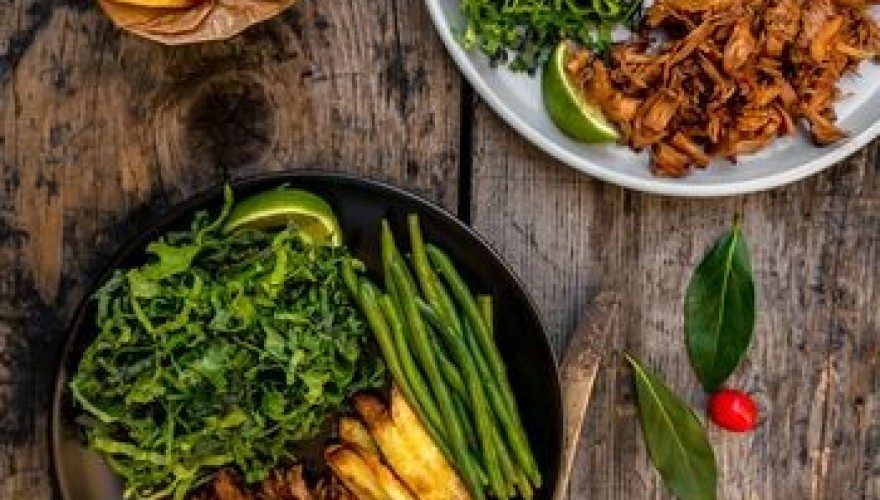 Grande assiette californienne inspirée de Dan Gordon's