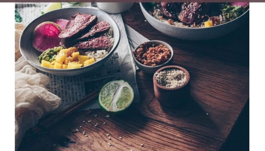 L'espace négatif en photographie culinaire
