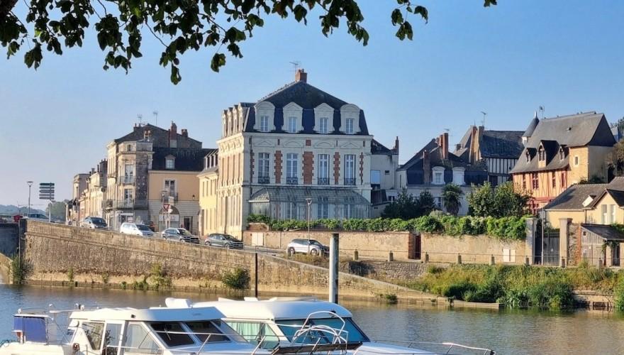 Une journée à Château-Gontier sur Mayenne