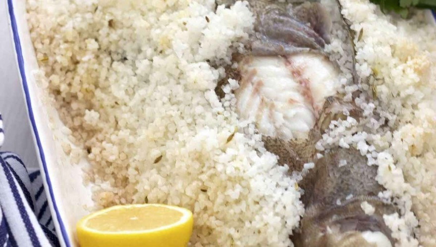 Comment cuire un poisson en croûte de sel (bar, daurade ..)