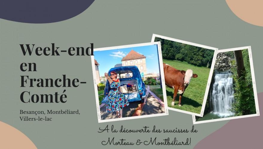 Vlog en Franche-Comté & Momos à la saucisse de Montbéliard